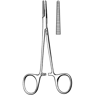 "5"" Halsted Mosquito Forceps Straight Delicate"
