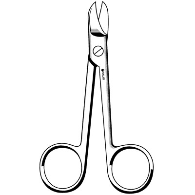 "Crown Scissors - Straight Smooth (4"")"