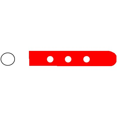 Vented Instrument Protectors - 4mm (Red)