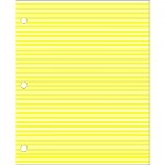 ID SHEET YELLOW W/WHITE STRIPE